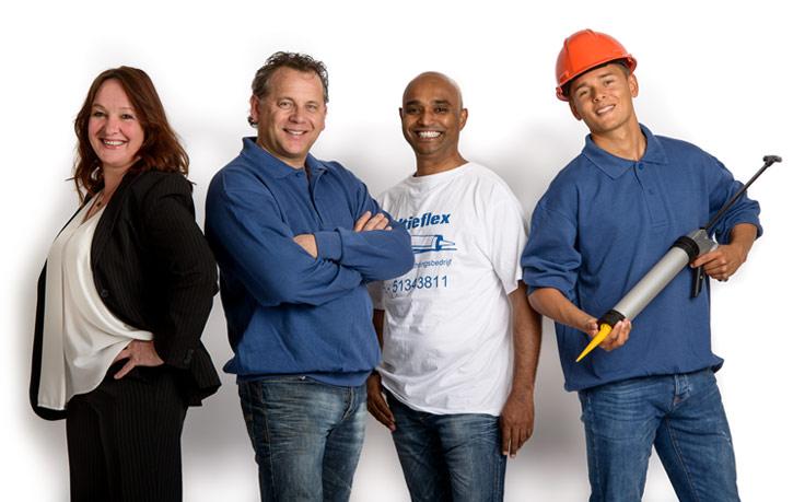Kitbedrijf in Rotterdam - medewerkers.